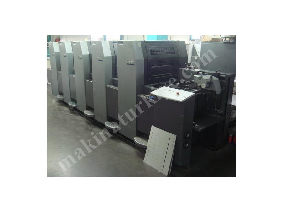 2. El Ofset Baskı Makinası / Heidelberg Sm52-5p