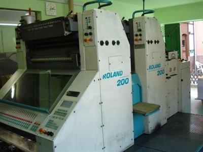 2. El Ofset Baskı Makinası / Man Roland 202 E Ob