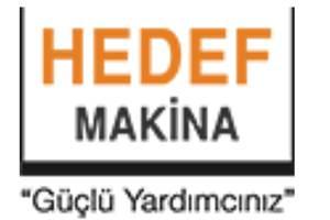Hedef Makina Sanayi Ve Ticaret Ltd. Şti.
