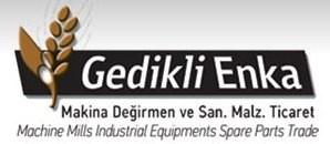 Gedikli-Enka Makine Değirmen Ve Sanayi Malzemeleri Ticaret