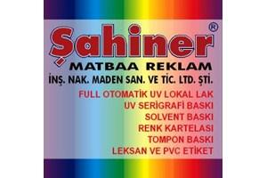 Şahiner Matbaa Reklam San. Ve Tic.Ltd.Şti.