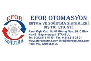 Efor Otomasyon Isıtma ve Soğutma Sistemleri Dış. Tic. Ltd. Şti