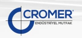 Cromer Endüstriyel Mutfak Proje-Taahhüt