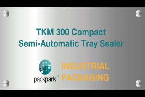 600 Watts Semi Automatic Tray Sealer - Tkm 300 Compact