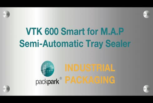 100 M3 Vacuum Semi Automatic Tray Sealer For M.A.P - Ponapack Vtk 600 Smart