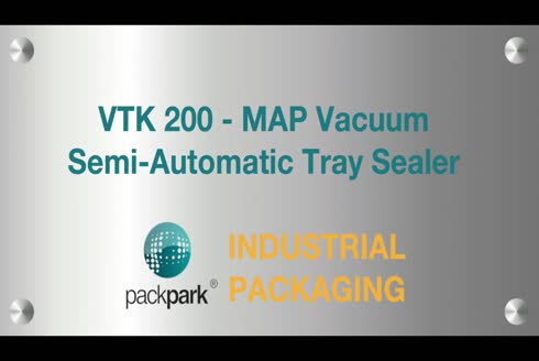 12 M3 Vacuum Semi Automatic Tray Sealer For M.A.P - Ponapack Vtk 200 Tt