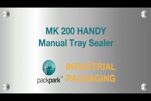 Manual Tray Sealer Machine - Handy Mk 200