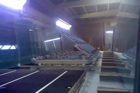 Liva Cam Jumbo Cam Yükleme Makinesi - Glass Loading Machine
