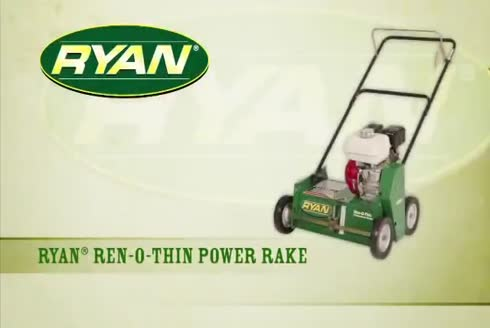 Ryan Ren-O-Thin Verticut ve Ara Ekim Makinesi